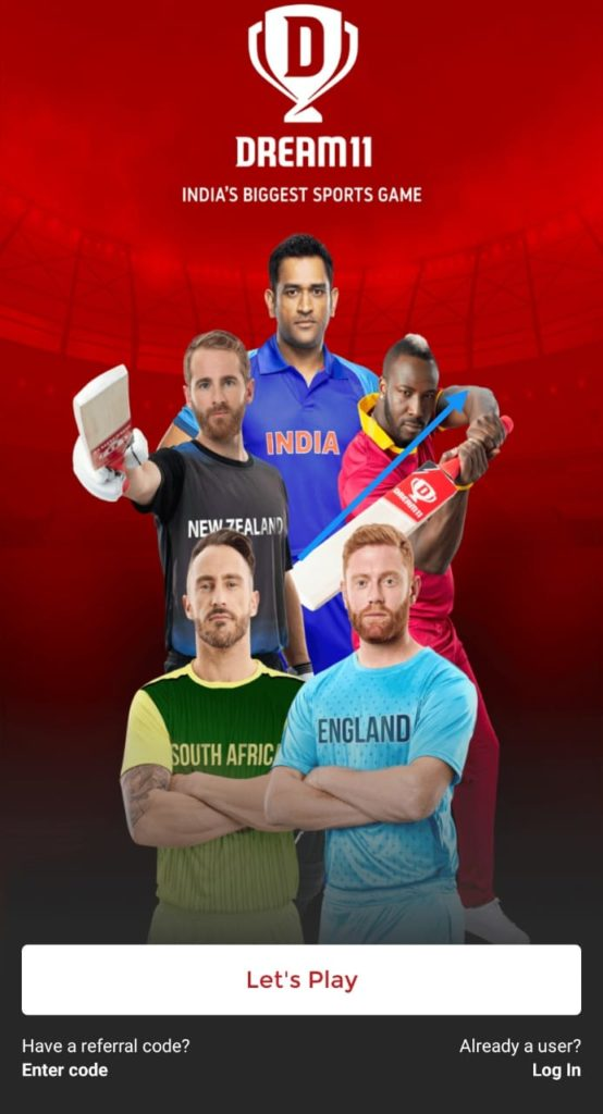 Dream11 Refer code- How To Win Money from it 2