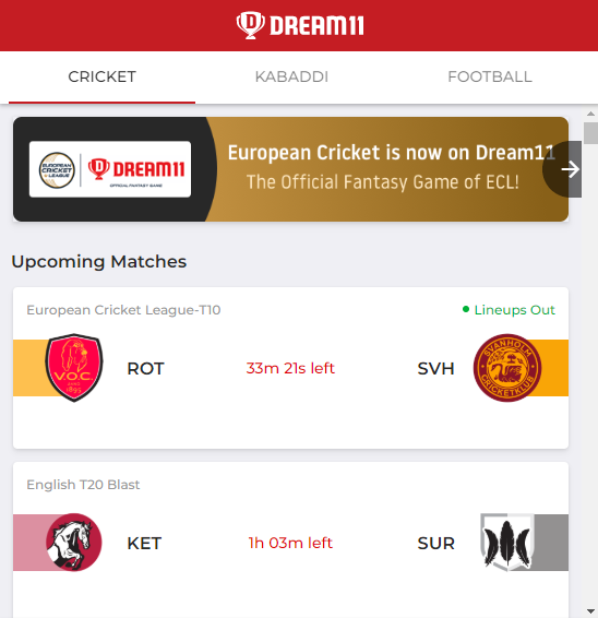 Dream11 Refer code- How To Win Money from it 7
