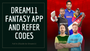 Dream11 Refer code banner