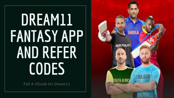 Dream11 Refer code- How To Win Money from it 1