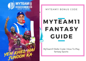 MyTeam11 Refer Code & How To Play fantasy Sports 11