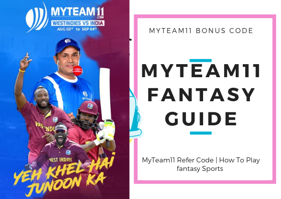 MyTeam11 Refer Code & How To Play fantasy Sports 1