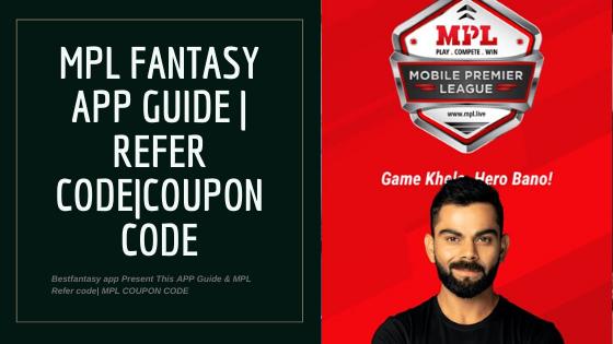 MPL Fantasy Cricket App: Referral Code with Huge Bonus Inside! 1