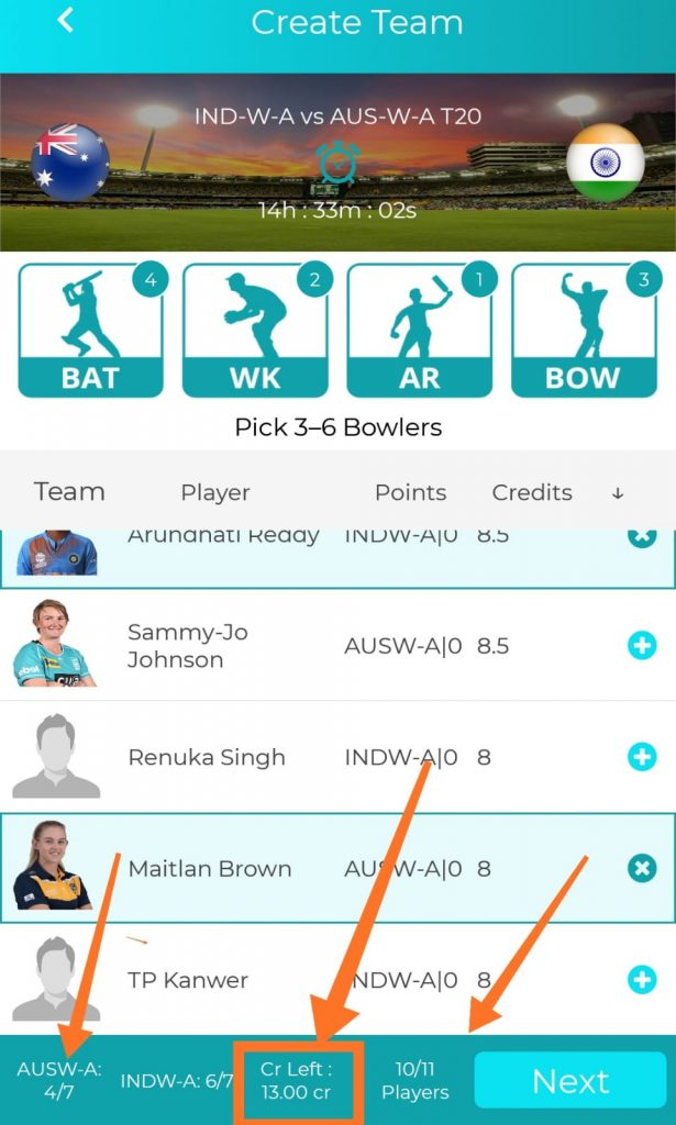 Fantasy Power 11 APK : Rs 100 Per Refer + 10 % Life Time Earning 8