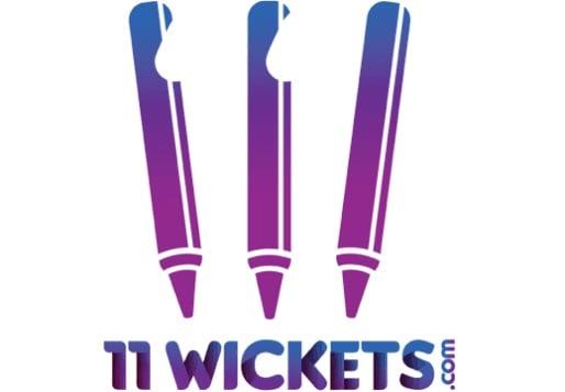 11 wickets logo