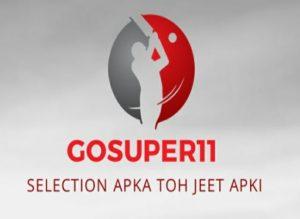 GoSuper11 Referral code, Apk download, 100% bonus usable 4