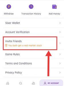 SixerGame Fantasy - Refer & Earn Upto ₹100 | IPL Loot 13