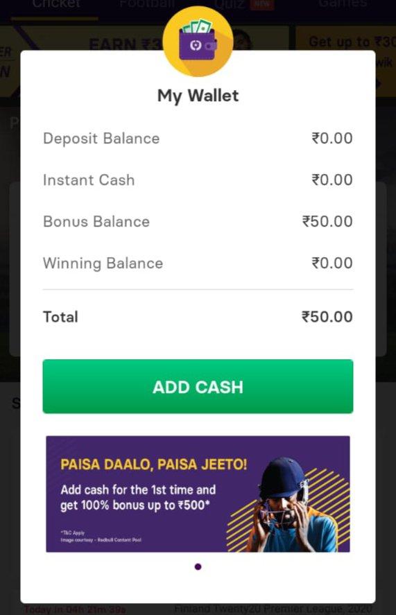Gamezy App Download - Get Rs.50 | Refer & Earn | IPL Loot 2