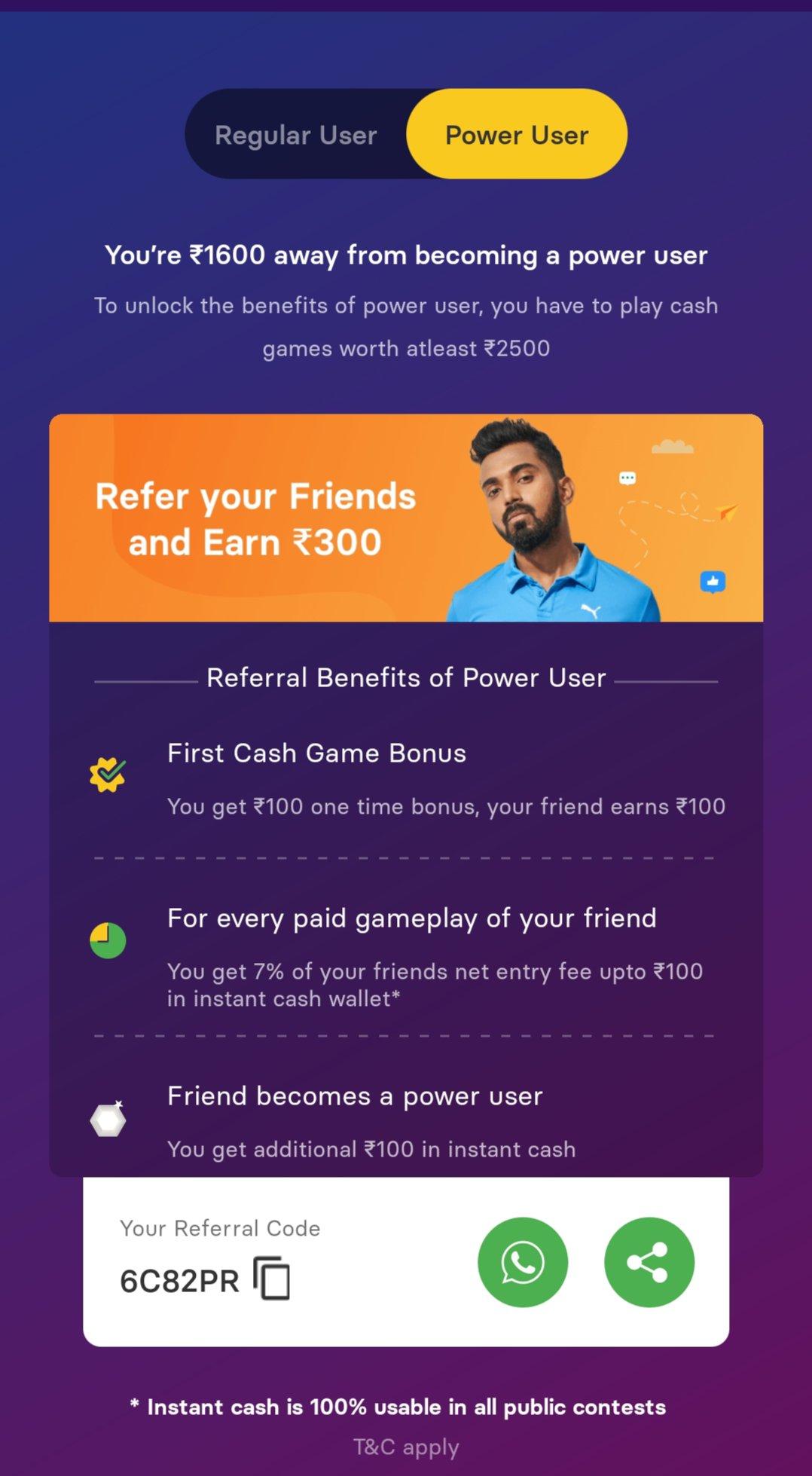 Gamezy App Download - Get Rs.50 | Refer & Earn | IPL Loot 6