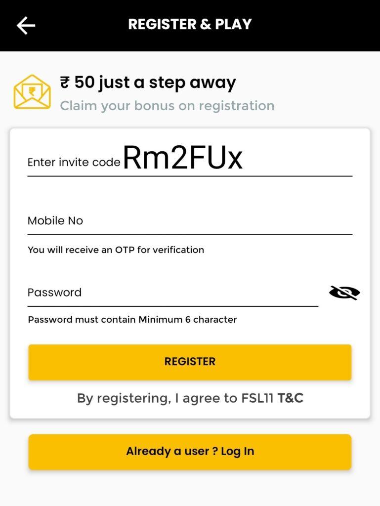 FSL11 Referral Code