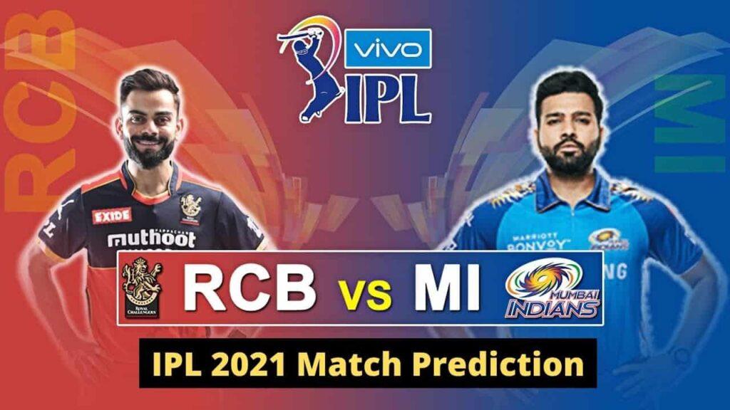 MI vs RCB IPL 2021 Match Prediction