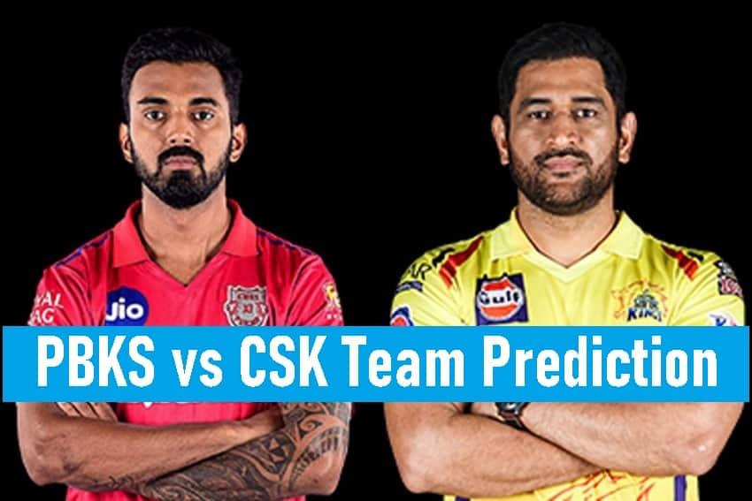 PBKS vs CSK IPL 2021 Team Prediction