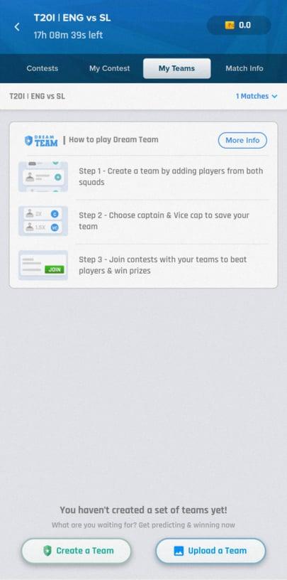 Nostra Pro create team