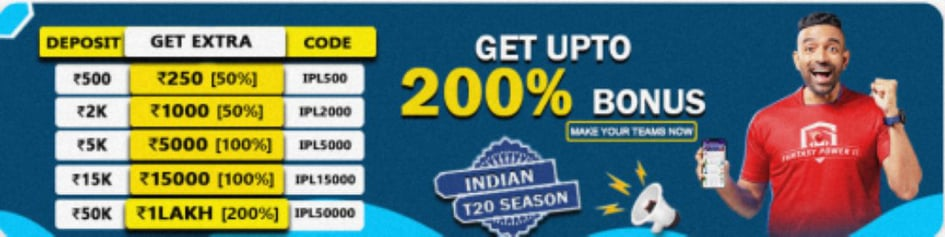 FantasyPower11 Coupon Code/Offer code