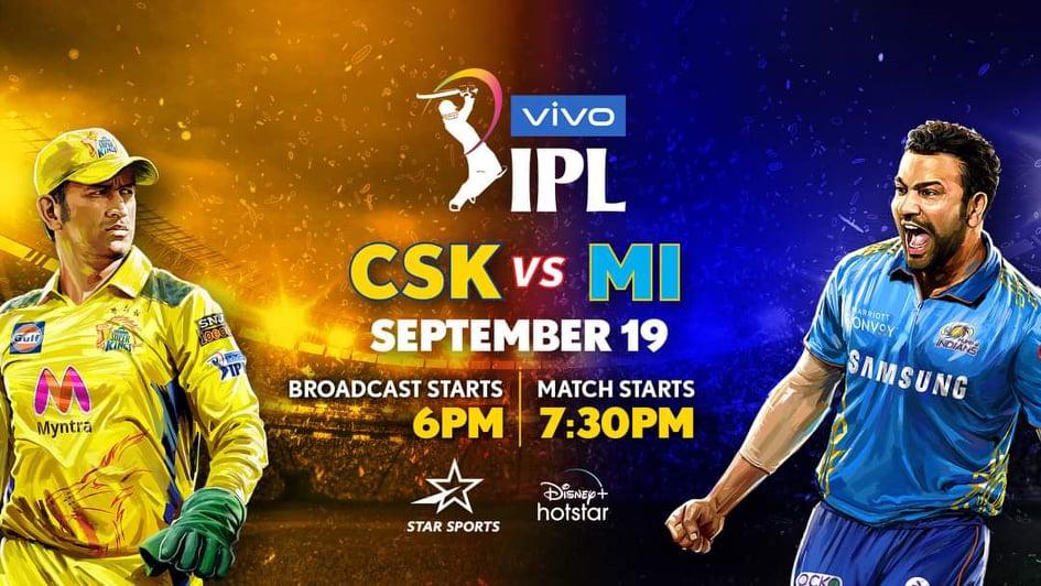 CSK vs MI IPL 2021 Team Prediction