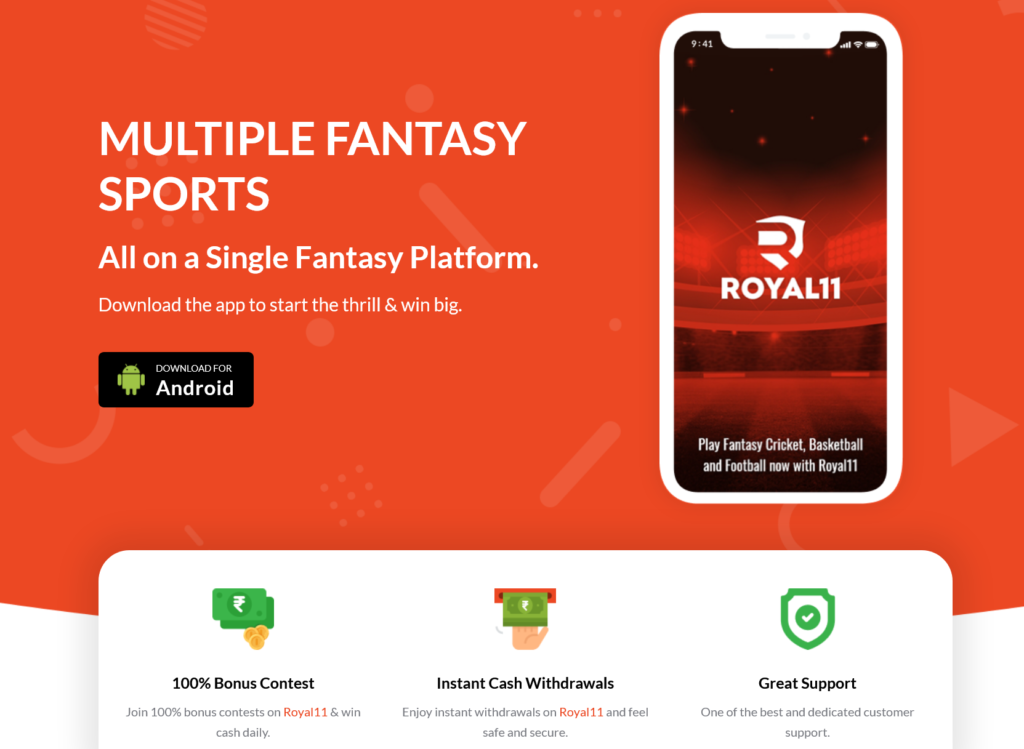 Royal11 fantasy app apk