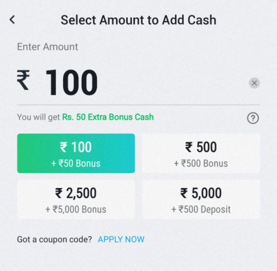 Paytm First Games Promo Codes