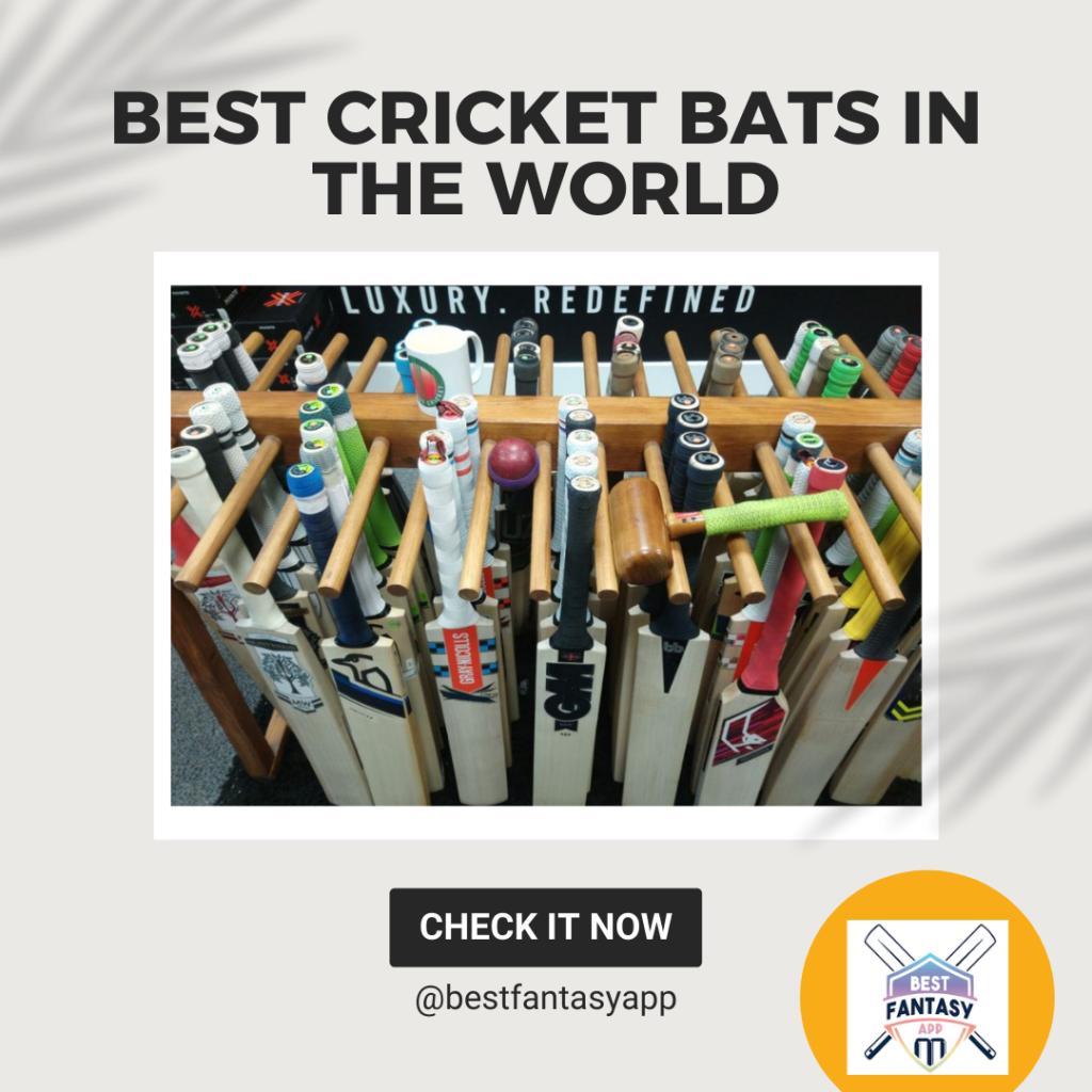 Best cricket bats